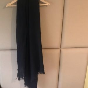 H&M Basic Black Light Scarf